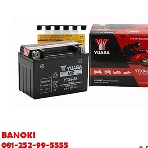 Baterai Aki Motor Yuasa Ytx9-Bs
