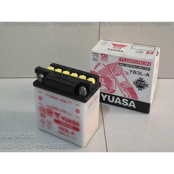 Baterai Aki Motor Yuasa Yb3la