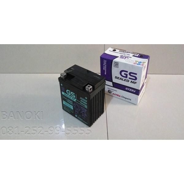 Baterai Aki Motor Gs Astra Maintenence Free Gtz-8V