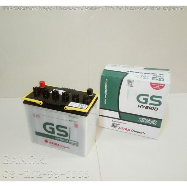 Aki Mobil Gs Hybrid Ns60ls