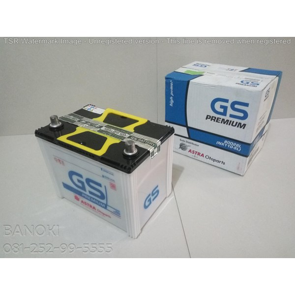 Aki Mobil Gs Astra Premium 80D26l