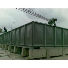 Distributor TANGKI PANEL FIBERGLASS 30 m3 Kota Bandar Lampung - Bak Fiber