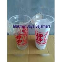 Distributor Sablon gelas plastik 22oz 3