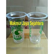 Sablon gelas plastik 22oz