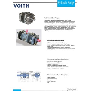 Voith Hidrolik Pump