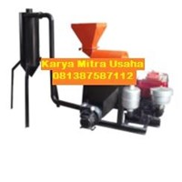 Mesin Pengolah Tepung Hammer Mill Bahan Besi dengan Cyclon