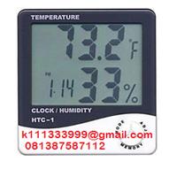 Jual Termometer Ruangan Thermohygrometer HTC 1