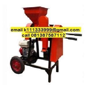 Dari Mesin Pembuat Kopi / Coffee Maker Mesin Pengupas (Kulit Tanduk) Kopi Kering Kecil - Huller Kopi Besi 0
