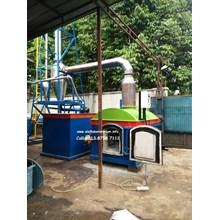 Insinerator Termal Incinerator Kapasitas 200 kg/batch