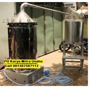 Dari Alat Destilasi Alat Penyulingan Minyak Atsiri Minyak Nilam Miyak Sereh Kapasitas 100-150 Kg 0