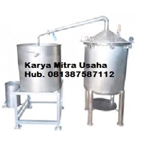 Dari Alat Destilasi Alat Penyulingan Minyak Atsiri Minyak Nilam Miyak Sereh Kapasitas 100-150 Kg 1