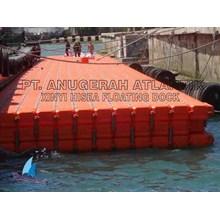 pelabuhan apung bahan kubus apung hdpe
