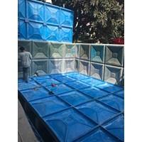 Distributor TANGKI PANEL FIBERGLASS 20 m3 Provinsi Nanggro Aceh Darussalam  1
