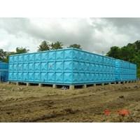 Distributor TANGKI PANEL FIBERGLASS 30 m3 Provinsi Sulawesi Selatan  1