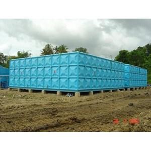 Distributor TANGKI PANEL FIBERGLASS 40 m3 Provinsi Maluku