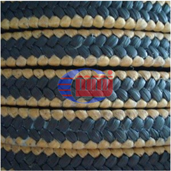 Gland Packing PTFE Graphite Aramid Corner