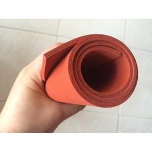 sponge silicone merah