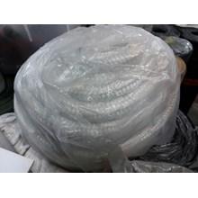 fiber bulat anyam kawat
