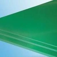 resin hijau lembaran