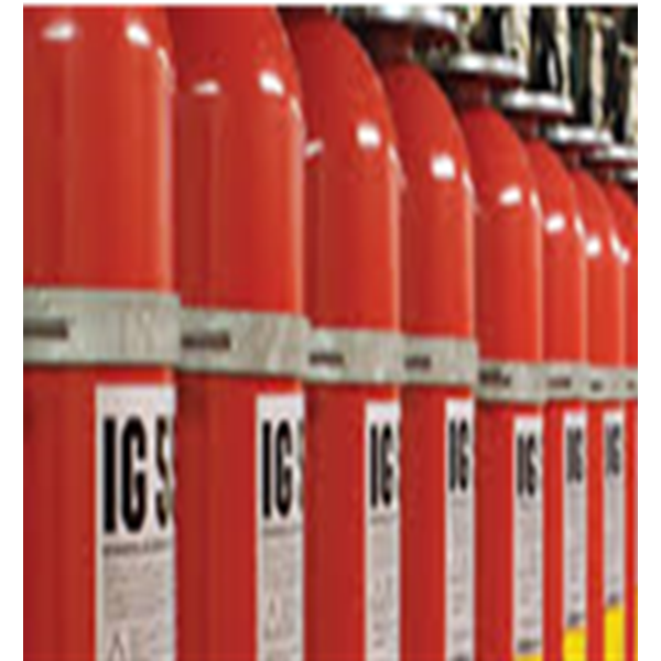 Inert Gas Fire Suppression System