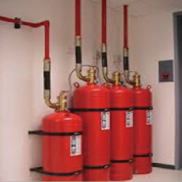 Fire Suppression System FM 200