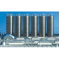 Silo Technology for Plastic Raw Material Storage Processing Plants