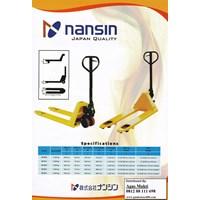 Jual Hand Pallet Truck Nansin Japan Quality 2