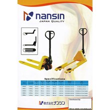 Hand Pallet Truck Nansin