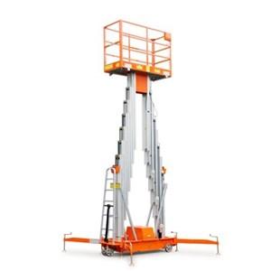 Aluminium work Platform tangga elektrik