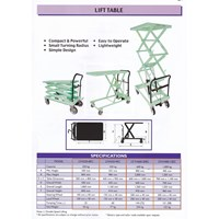 Jual Lift Table Opk Inter Corporation 2