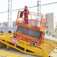 Jual Scissor Lift tangga gunting elektrik