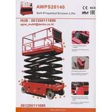 SCISSOR LIFT AWPS20140 HD
