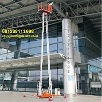 Aluminium work platform Single mast dan Dual Mast 1