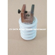 Isolator Keramik 15kv uk diameter 54mm x tinggi 72