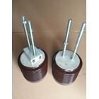 Isolator Keramik 6kV Ukuran Diameter 130mm x tinggi 130mm 3