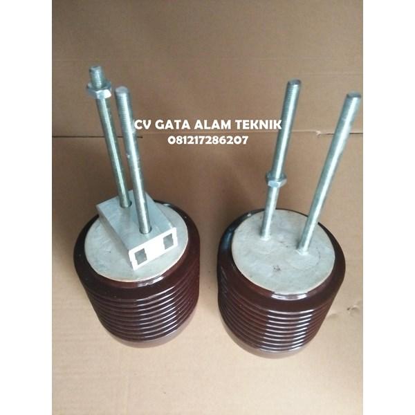 Isolator Keramik 6kV Ukuran Diameter 130mm x tinggi 130mm