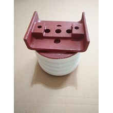 Isolator Keramik 6kV Ukuran Diameter 120mm x tingg