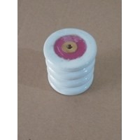 Isolator Keramik 15kV Ukuran Diameter 50mm x tinggi 50mm