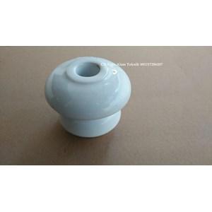 Isolator Keramik Shackle untuk kabel diameter maks 12mm