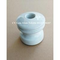 Isolator Keramik Shackle untuk kabel diameter maks 25mm