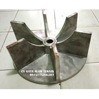 Impeller Mesin Aluminium