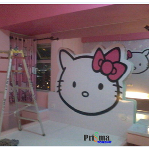 Jasa Design Interior Hello Kitty By Prisma Workshop