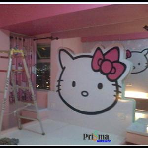 Jasa Design Interior Hello Kitty By Prisma Workshop