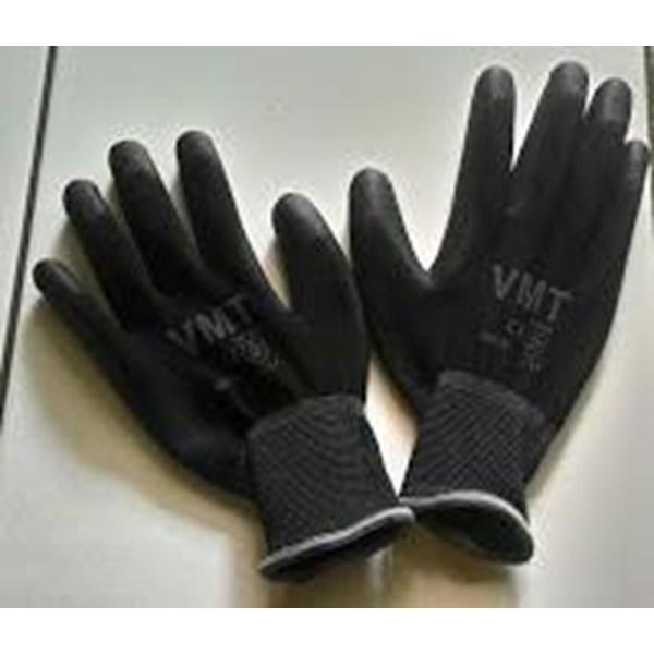 Safety Glove Pu Vmt Black