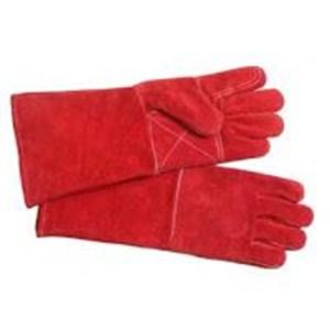 Sarung Tangan Kulit Merah