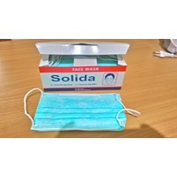 Masker 3Ply Disposable Solida