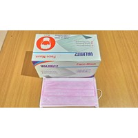 Jual Masker 3Ply Valmit Disposable Pink 2