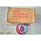 Batu Gerinda Potong Flexibel K55 4 Inc 3