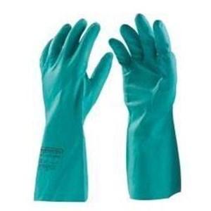 Sarung Tangan Nitrile Chemical Hijau