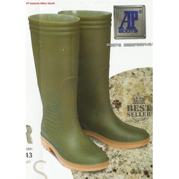 Ap Boot Green Shoes Type Terra